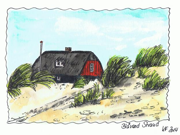 06 Blavand Ferienhaus Dänemark
