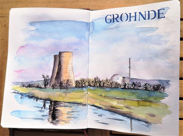 Weser_Grohnde_KKW-Grohnde