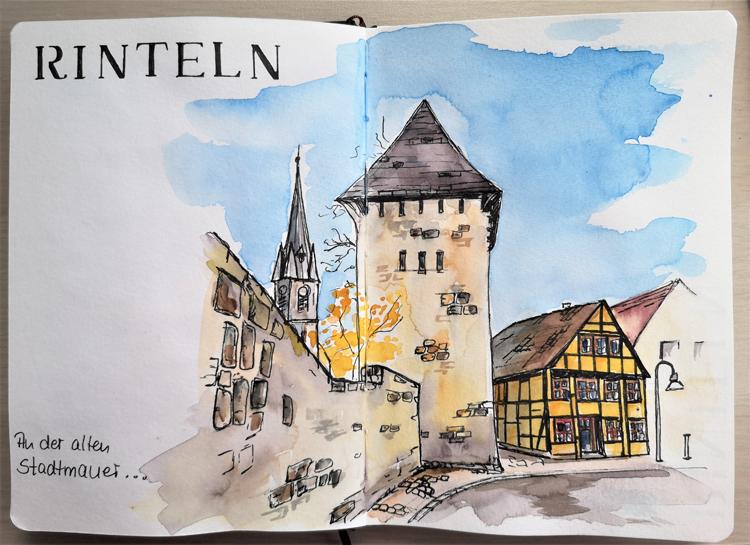 15-Rinteln_Stadtmauer_Ausflug