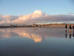 Blavand - Spiegelungen im Wasser