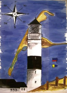 Sylt Kampen (2008) Aquarell