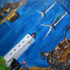 Blavand Impressionen (2008) Acryl