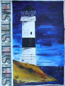 Sylt Collage (2009) Acryl
