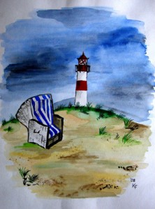 Sylt List (2008) Aquarell