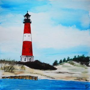 Sylt Hörnum Leuchtturm, Strand, Meer, Nordsee