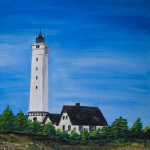 Blavandshuk - Leuchtturm in Blavand in Dänemark