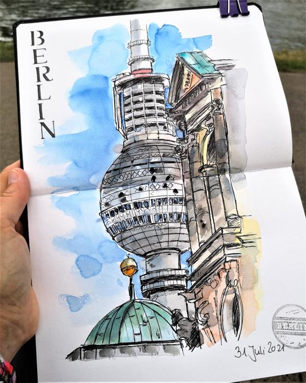 Berlin_Urban-Sketching_Funkturm