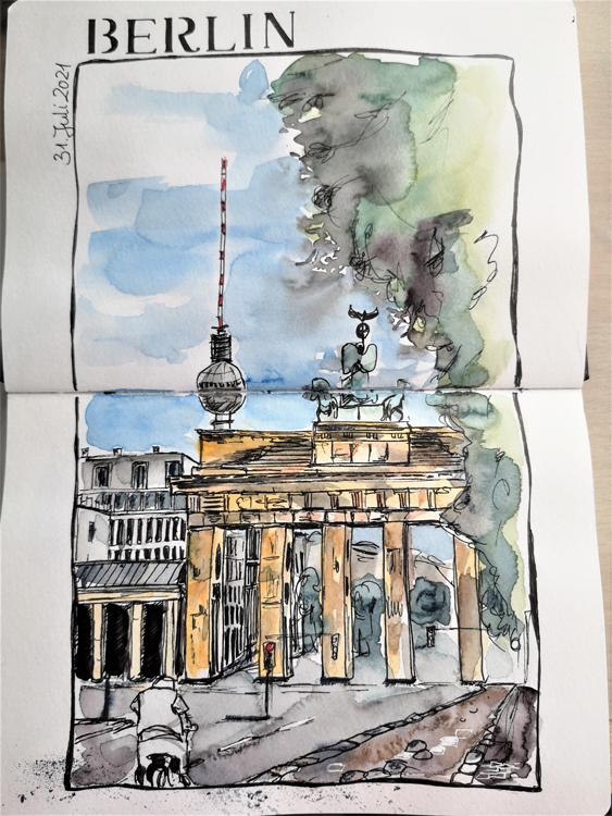 Berlin_Brandenburger-Tor_Urban-Sketching