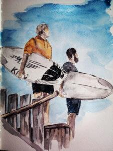 Sylt_Wenningstedt_Surfer_Surfschule-Südkap_Reisetagebuch