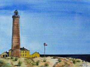 Skagen-Grenen-Leuchtturm