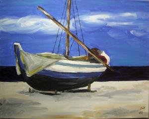 Vorupör Boot (2009) Acryl